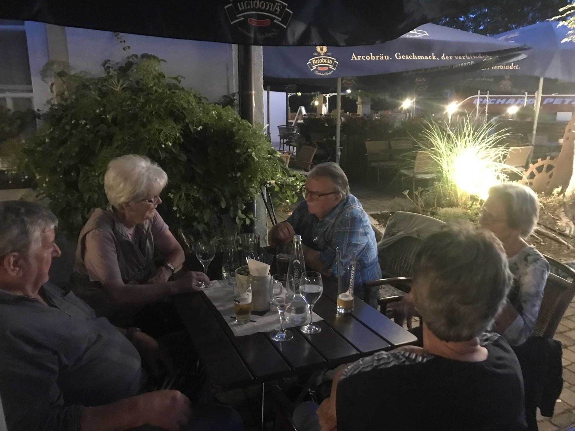 Gemütlicher Ausklang in Straubing 1